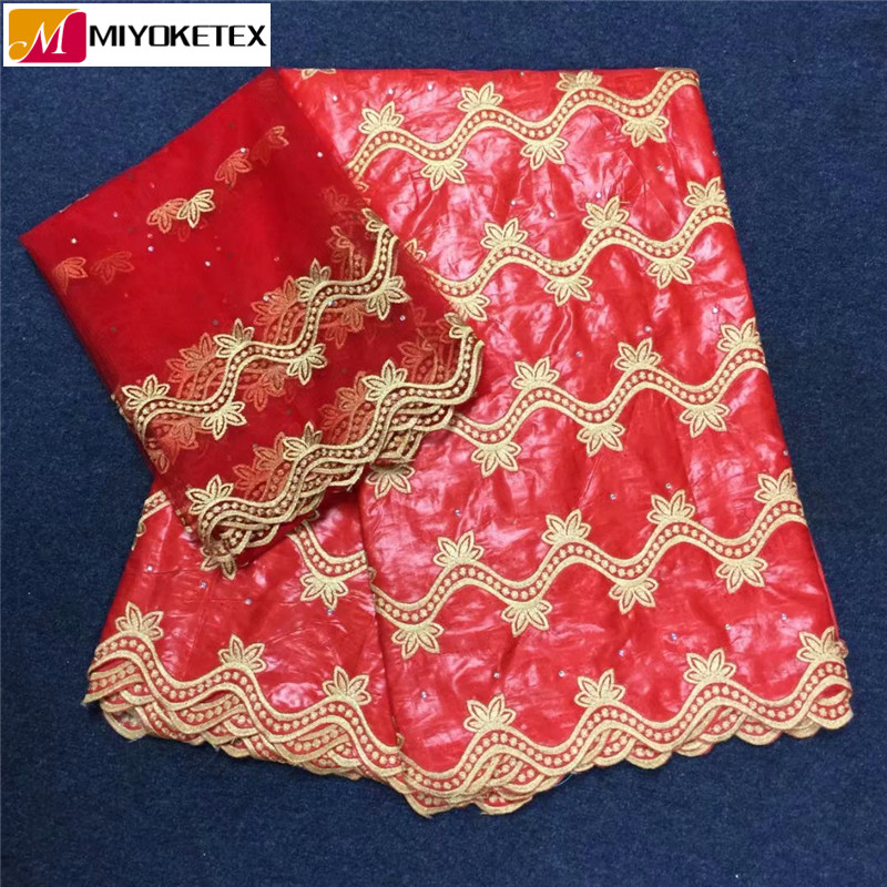 5 야드 아프리카 bazin riche 레이스 원단 바느질을위한 돌 수 놓은 bazin riche getzner fabric 2 야드 french laces KYA22 1-에서레이스부터 홈 & 가든 의  그룹 1