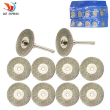 25mm dremel accessories diamond grinding wheel dremel saw mini circular saw cutting disc dremel rotary tool diamond disc