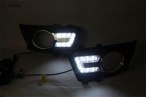 Image 5 - Car Flashing 1 set For KIA Sportage 2008 2009 2010 2011 2012 2013 12V LED DRL Daytime Running Light Daylight Fog lamp head light