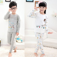 2014 new winter children underwear wholesale clothing for men and women suits Super Soft Velvet Lycra cotton pajamas