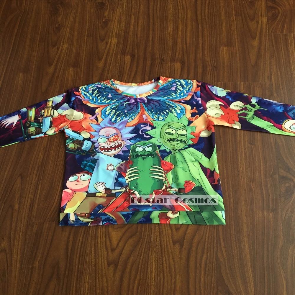 PLstar Cosmos free shipping 2017 New 3d hoodies Men/women Sweatshirts Classic cartoon rick and morty Print Hooded Tracksuits 2017  Men/women Sweatshirts the cartoon, Rick and Morty HTB1LBXpjwMPMeJjy1Xbq6AwxVXaa