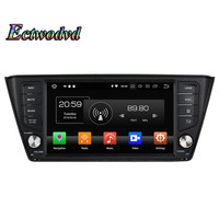 Ectwodvd Octa Core 4G Android 8.0/Quad Core Android 8.1 Car Multimedia DVD Player for Skoda Fabia 2015 2016 2017 Radio Tapes GPS