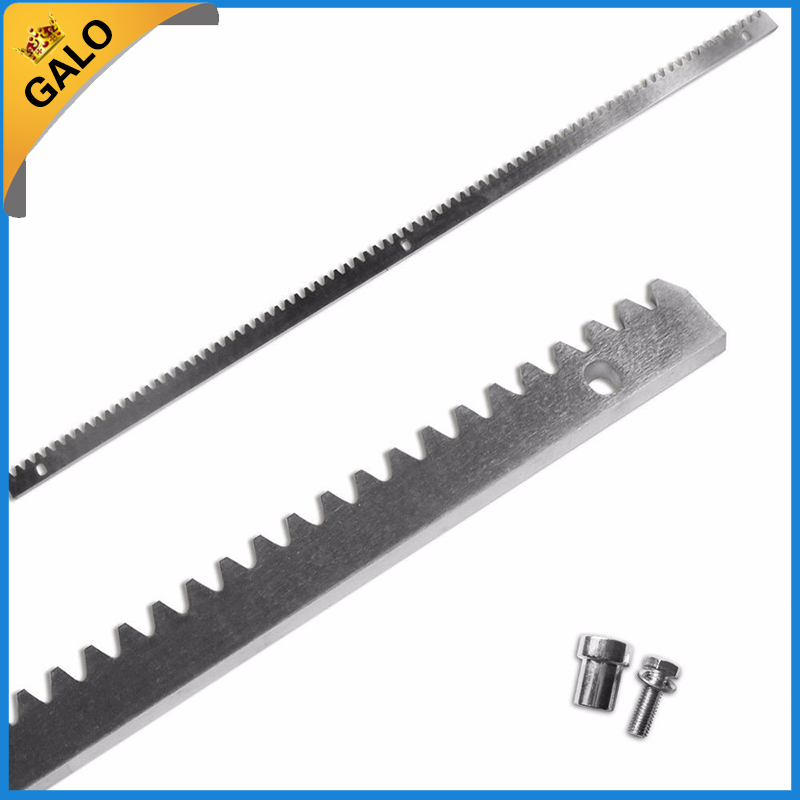 steel tooth rack and gear for sliding gate opener gate opener 1m nylon gear rack rail for sliding gate door the price is for 1unit sliding gate rack and pinion