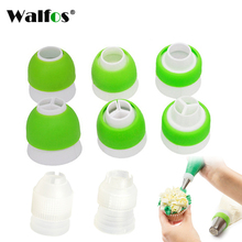 1 Pc Tri-color Icing Piping Nozzle Converter Cream Coupler 3 Holes Cake Decoration Connector Fondant Decorating Tools
