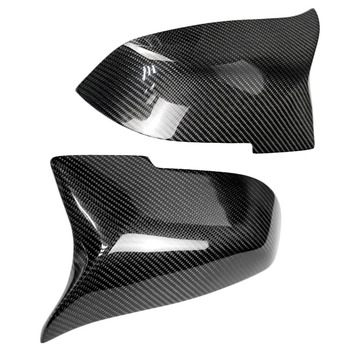 F30 Baru M Terlihat Serat Karbon Pengganti Gaya Side Cermin Meliputi untuk BMW 1 2 3 4 Series F20 F21 f22 F23 F30 F31 F32 F33 F36 F8