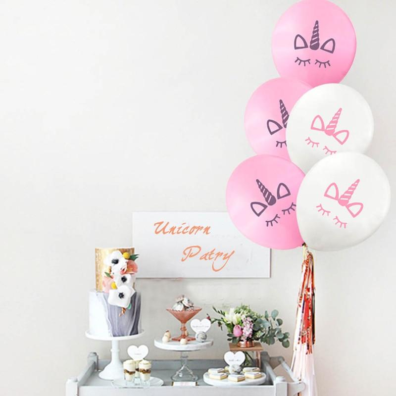 10pcs / 20pcs Μπαλόνια γενέθλια του Unicorn για - Προϊόντα για τις διακοπές και τα κόμματα - Φωτογραφία 3