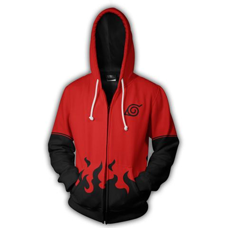 Japan Anime Sweatshirts Naruto 3D Printed Sweatshirt  Cosplay Game Anime Cartoon hooded Hoddie