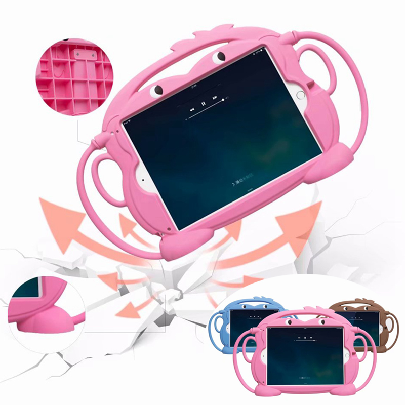 For IPad 2018 Case Kids Shockproof Funda For IPad 6th Generation / Air 2 / Air 1 / Pro 9.7 Case Cover Silicon Shell 9.7 Inch