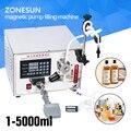 ZONESUN 2 ml ilimitado máquina de llenado Micro-computadora de la bomba magnética máquina de llenado de líquido, máquina de llenado automático