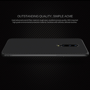 Image 3 - OnePlus 7 Pro Case Casing Nillkin Synthetic fiber Carbon PP Plastic Back Case for OnePlus 7/7 Pro Cover