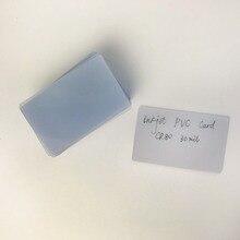 Прозрачная глянцевая прозрачная Кредитная карта для струйных принтеров Epson/Canon, размер обычной кредитной карты, 50 шт./лот
