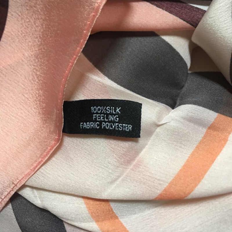 2019 Moda Lindo Lenço De Seda Lenços para As Mulheres Xale pashmina Das Mulheres Marca de Luxo de Alta Qualidade de Impressão hijab envolve 180*90 CM