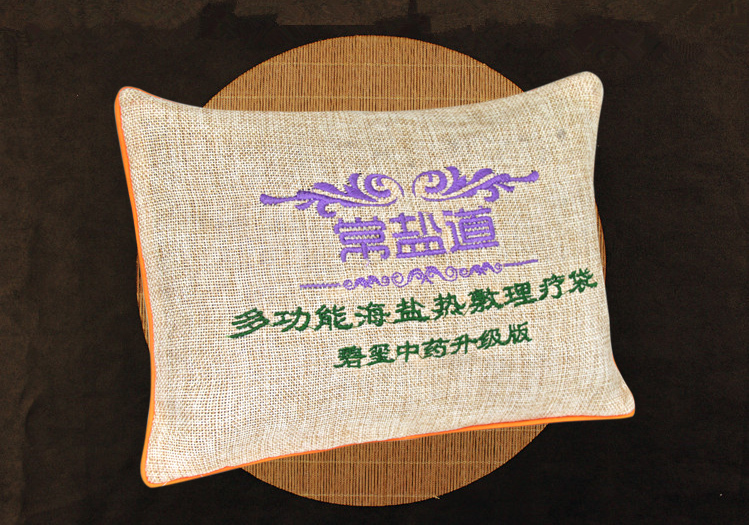 Quality moxibustion salt heat pack acupuncture herb bag cervical knee therapy massage heatpack