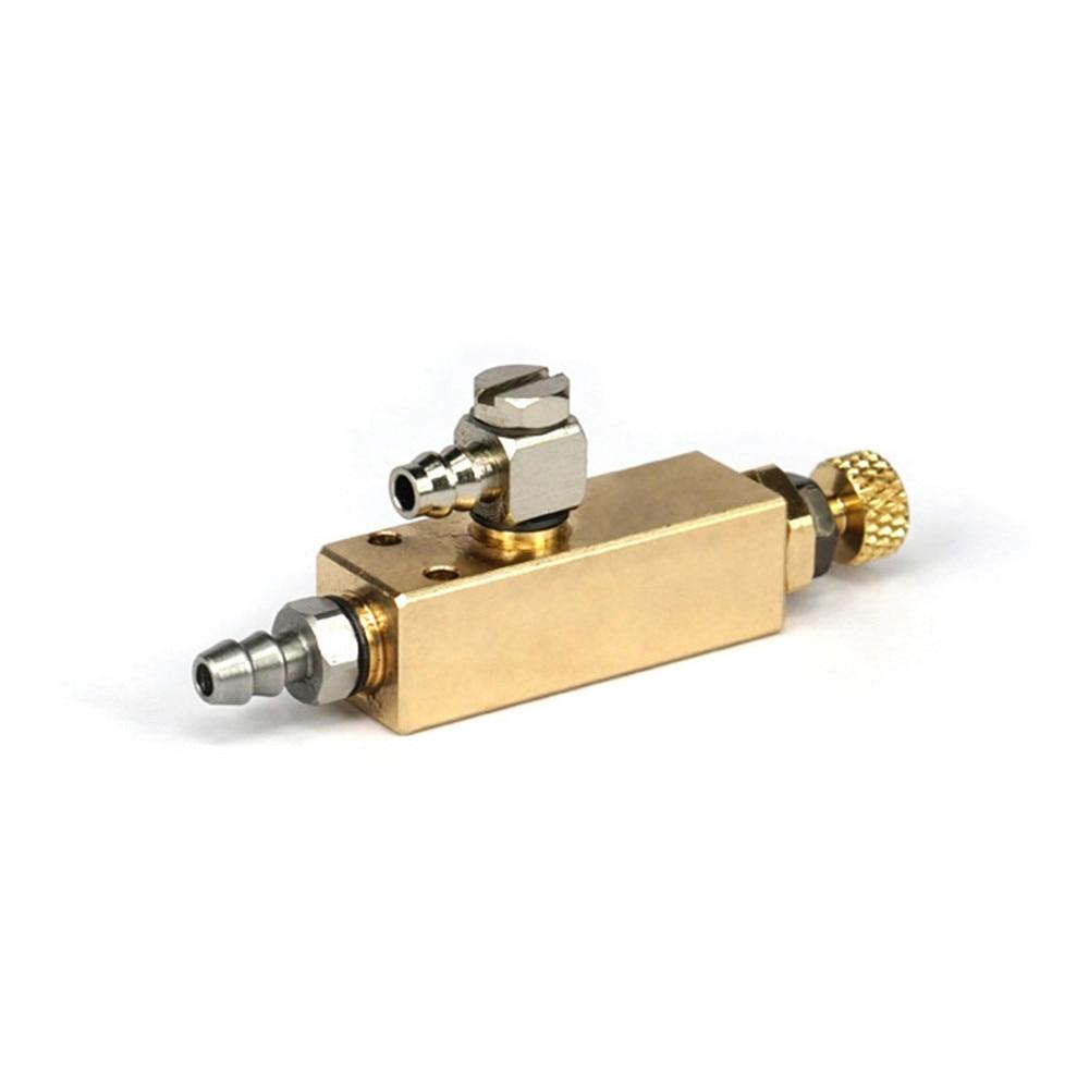 Metalowy zawór regulacji sterowania hydraulicznego do 1/14 RC modelu TAMIYA ciągnik ciężarówka DIY RC Model samochodu części samochodowe akcesoria do modernizacji w Części zamienne i akcesoria od Elektronika użytkowa na  Grupa 1