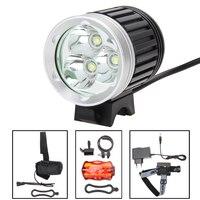 XM L 3x T6 Bicycle Light Headlight 8000 Lumen LED Bike Light Lamp Headlamp 8 4V
