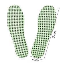 Самонагревающиеся стельки, натуральные зимние подошвы для обуви, теплые стельки для терапии, рефлексологический светильник, турмалиновые стельки