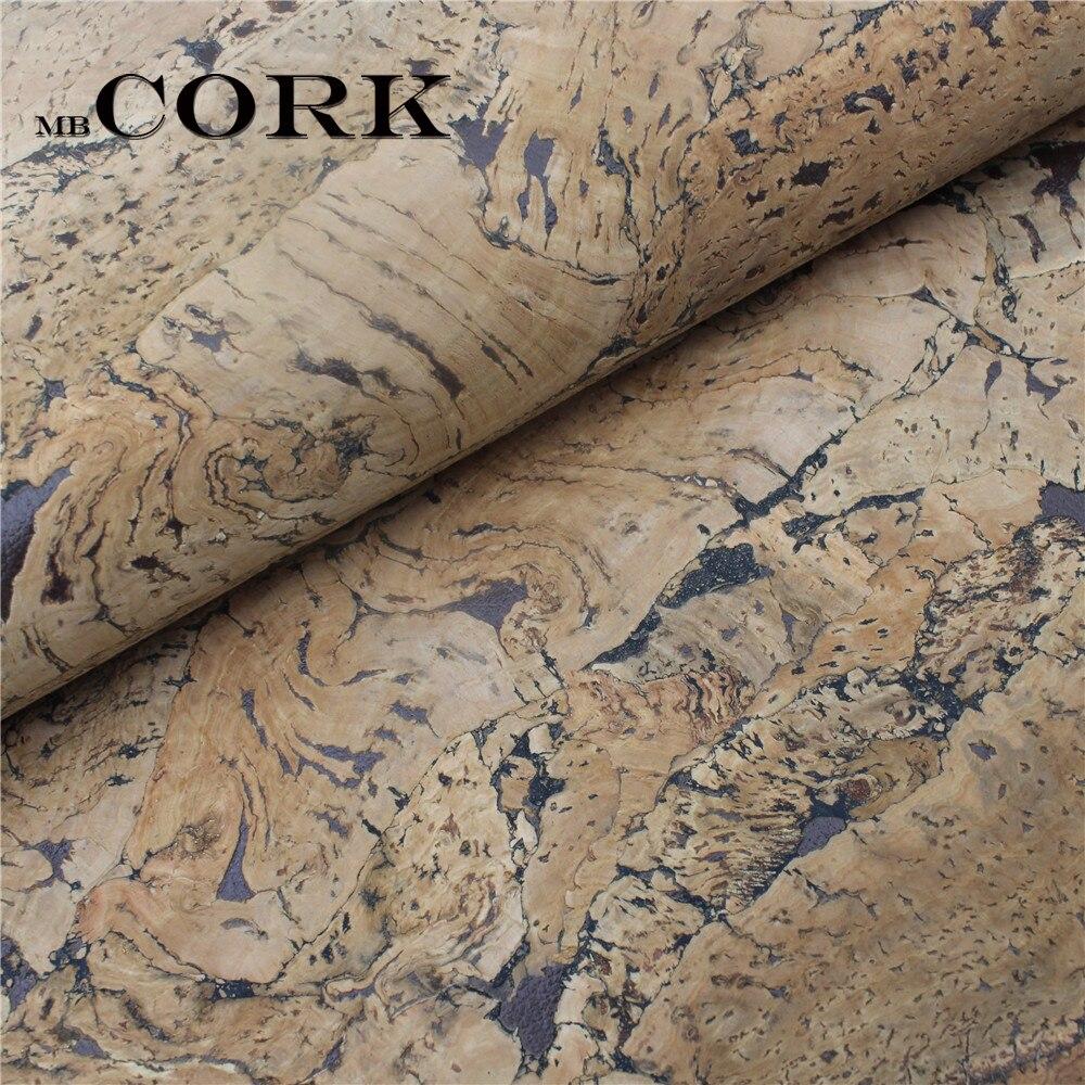 PORTUGAL cork fabric 70*50cm/27.5*19.6inch natural big Square Cork leather Vegan Leather Fabric,Natural , COF-077