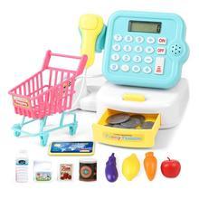 19pcs Supermarket Cashier Cash Register