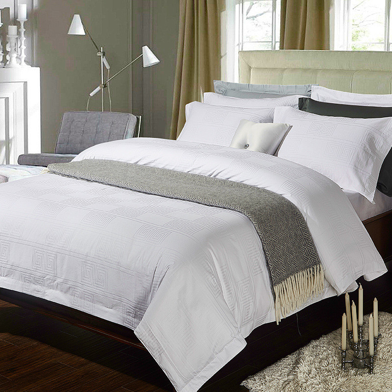 White Bedding Sets King.Us 81 82 41 Off 4 6pieces Queen King Size Hotel White Bedding Set Satin Cotton Silky Duvet Cover Bedsheet Set Beddingsets Pillowcase In Bedding Sets