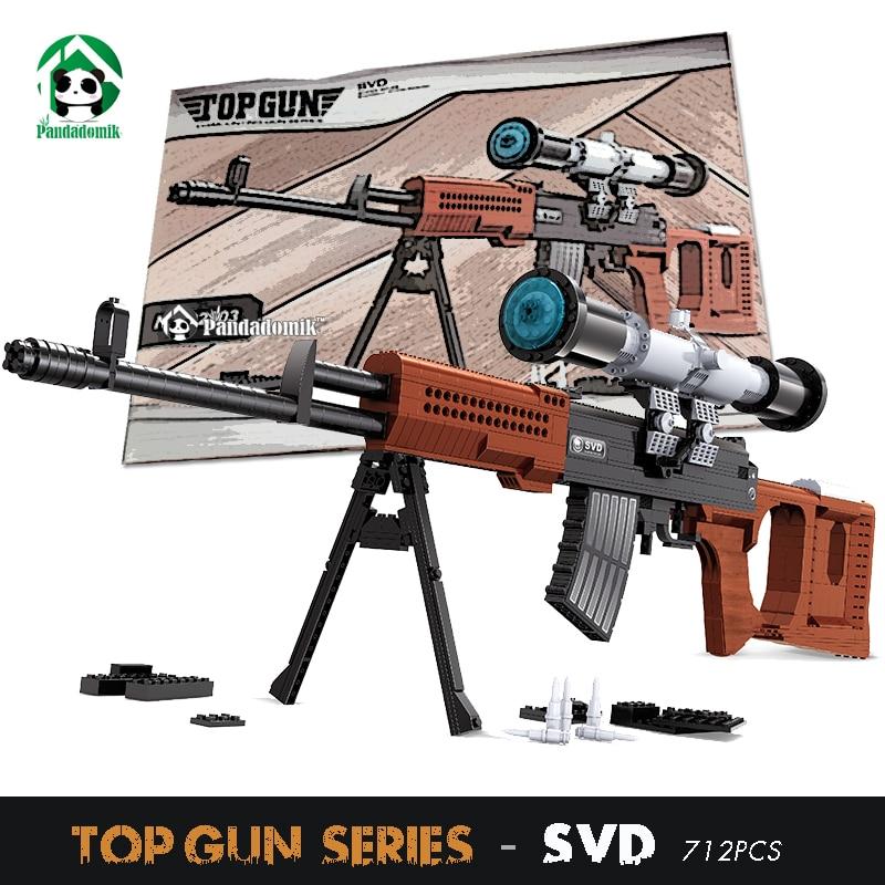 Ausini SVD Sniper Rifle 35inch Gun 88cm Building Blocks Set 712pcs Models Weapon Toys Army Bricks Play Kit Toys for Boys карандаш для глаз provoc semi permanent gel eye liner 90 цвет 90 limo service variant hex name 1c1c1c