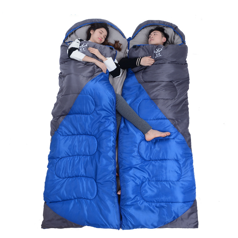 Image 4 - VILEAD 2 Colors Envelope type Ultralight Sleeping Bag Hiking Camping Stuff Adult Quilt Lightweight Portable Waterproof Summer-in Sleeping Bags from Sports & Entertainment