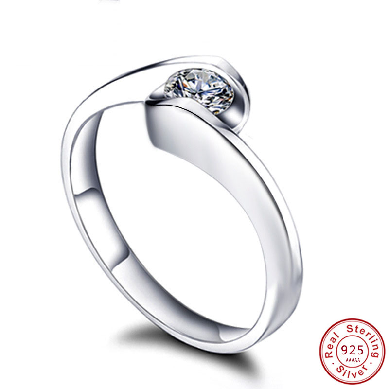 alpha jewelry 1.5 Ct Cubic Zirconia Engagement Ring for Women CZ Heart and Arrow Stone Collection.Wedding Gift Women