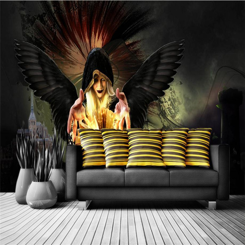 Custom Wallpaper Mural Wallpaper Designs Space Wall Mural Wall Decoration Items 3d Wallpaper for Bedroom TV Room Furniture Study book knowledge power channel creative 3d large mural wallpaper 3d bedroom living room tv backdrop painting wallpaper