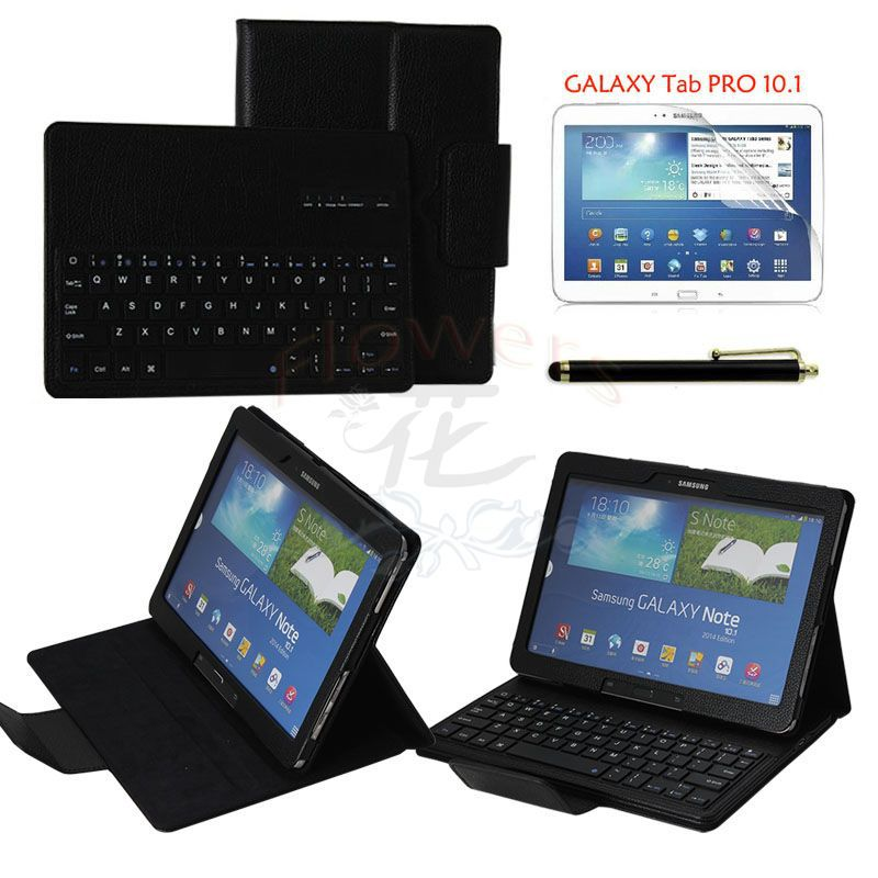 Removable ABS Bluetooth Keyboard Case Smart Cover for Samsung GALAXY Tab PRO 10.1 inch T520 T521 + Pen & Screen Protector Film samsung keyboard cover ej cg930ubegru black