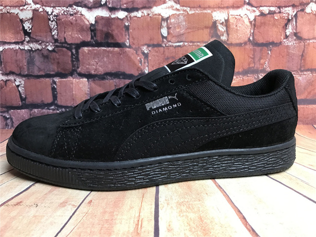 new style 1d0b1 703d5 US $63.25 |2018 New Arrival PUMA Fenty by Rihanna Cleated Creeper Suede  Sneakers Women's Badminton shoes Size36 39-in Badminton Shoes from Sports &  ...