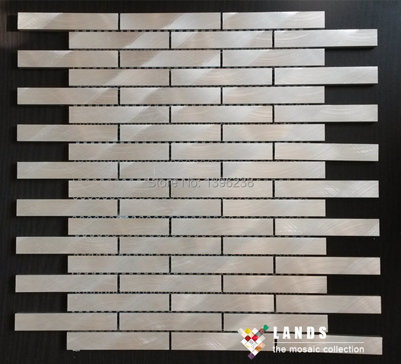 Aluminum mosaic Rose gold color modern design,kitchen backsplash wall metal wallpaper,Home Building DIY sticker material,LSALE04 45x200cm mosaic aluminum foil self adhensive anti oil wallpaper for kitchen wall sticker diy decals high temperature resistant