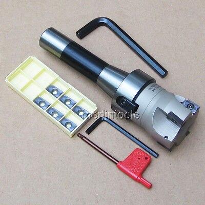 R8 FMB22 Arbor + 400R 50MM Face Mill + 10pcs APMT1604 Inserts + Wrench Set precision m16 bt40 400r 63 22 face endmill and 10pcs apmt1604 carbide insert new