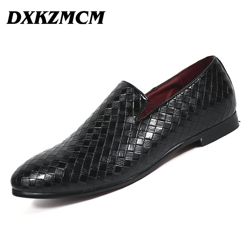 DXKZMCM  Men Shoes Casual Driving Oxfords Shoes Men Loafers Moccasins Italian Shoes for Men Flats dxkzmcm men shoes casual driving oxfords shoes men loafers moccasins italian shoes for men flats