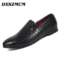 DXKZMCM Men Shoes Casual Driving Oxfords Shoes Men Loafers Moccasins Italian Shoes For Men Flats