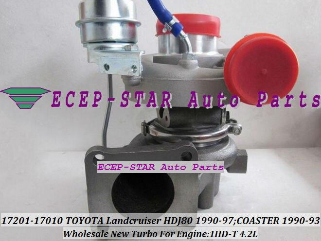 CT26 17201-17010 turbokompressor sõidukile TOYOTA COASTER 1990-1993; - Autode varuosad