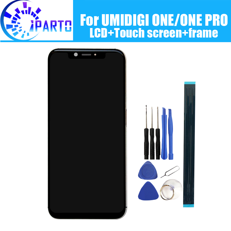UMIDIGI ONE LCD Display+Touch Screen Digitizer +Frame Assembly 100% Original New LCD+Touch Digitizer for UMIDIGI ONE PROUMIDIGI ONE LCD Display+Touch Screen Digitizer +Frame Assembly 100% Original New LCD+Touch Digitizer for UMIDIGI ONE PRO