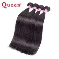 Rainha Do Cabelo Produtos Peruanos Feixes de Cabelo Em Linha Reta 1 PC 100% cabelo Humano Remy Tecer cabelo Tecelagem Cabelo Natural Pode Comprar 3 ou 4 Feixes