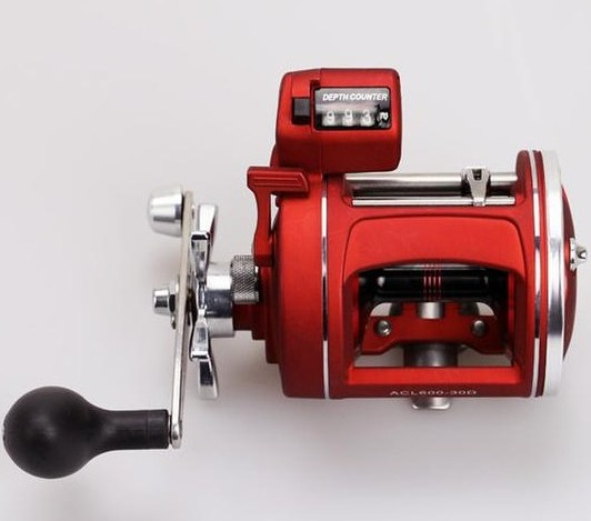 high qulity Drum fishing reel With Electric Counting left / right hand 12BB baitcasting reels Boat Wheel Round Baitcast vessels rover drum saltwater fishing reel pesca 6 2 1 9 1bb baitcasting saltwater sea fishing reels bait casting surfcasting drum reel