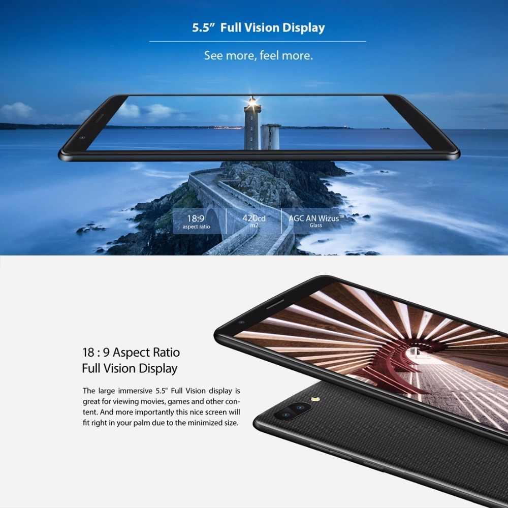 NEW BLACKVIEW A20 Android GO Smartphone Dual Rear Camera MTK6580M Quad core  1GB RAM 8GB 5 5
