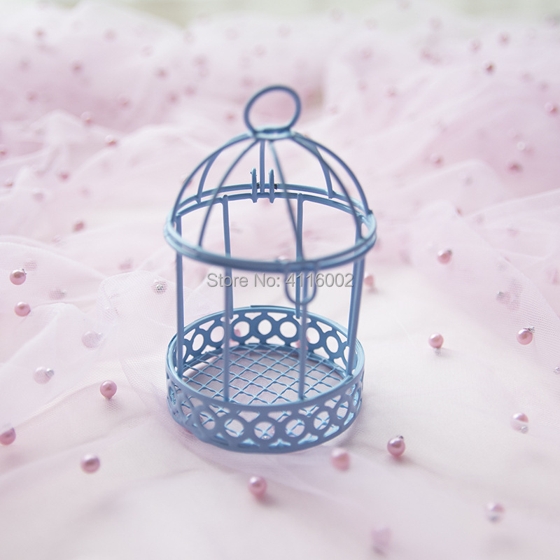 50 pcs 유럽 크리 에이 티브 철 로맨틱 버드 케이지 웨딩 사탕 상자 웨딩 부탁 및 선물 파티 장식-에서선물가방&포장용품부터 홈 & 가든 의  그룹 3