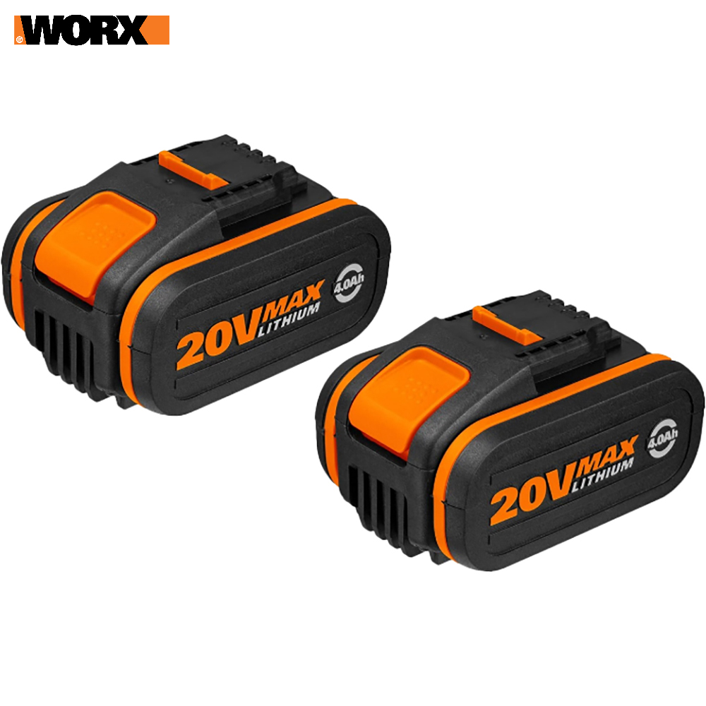 Rechargeable Batteries WORX WA3553.2 accumulator for power tool acb lithium ion charging device