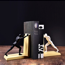 Modern Creative resin bookend statue home decor office crafts study room decoration object sports character bookend figurines bookend vintage home decoration book end globe bookend decorations crafts livros