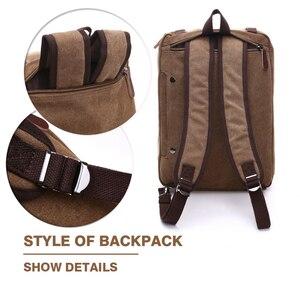 Image 2 - MARKROYAL płótno skórzane męskie torby podróżne bagaż podręczny torby męskie worki marynarskie torba podróżna ukryj pasek na ramię Dropshipping