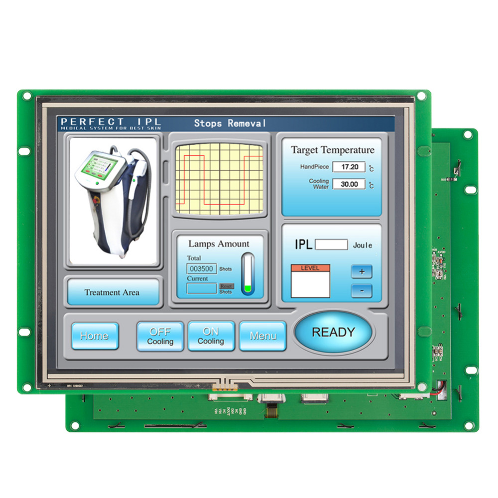 8 0 quot Screen Monitor Industry Type LCD Display With Full Colors Touch Screen in LCD Modules from Electronic Components amp Supplies