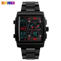 SKMEI Military Sport Watch Men Top Brand Luxury Waterproof Electronic Digital Wrist Watches For Men Male