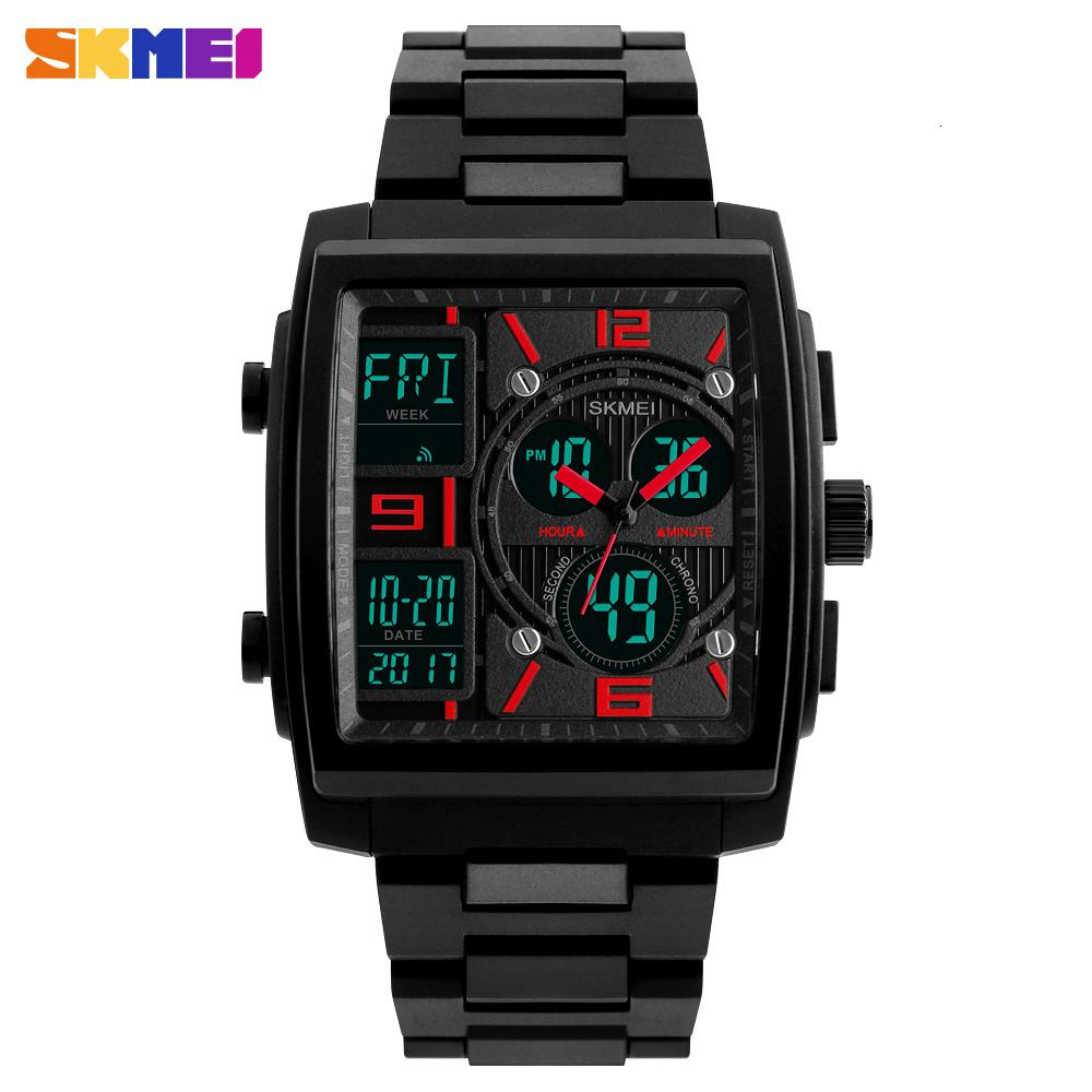 купить SKMEI Military Sport Watch Men Top Brand Luxury Waterproof Electronic Digital Wrist Watches For Men Male Clock Relogio Masculino недорого