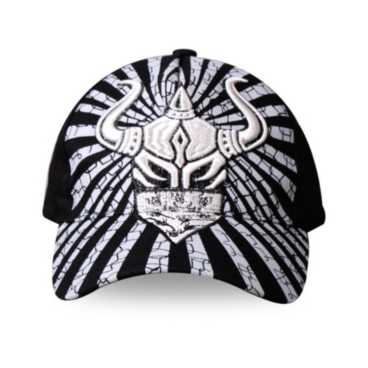 2015 Mens explosion models printed explosion models cool sports cap can be adjusted Source : Reality real shot Color: Black