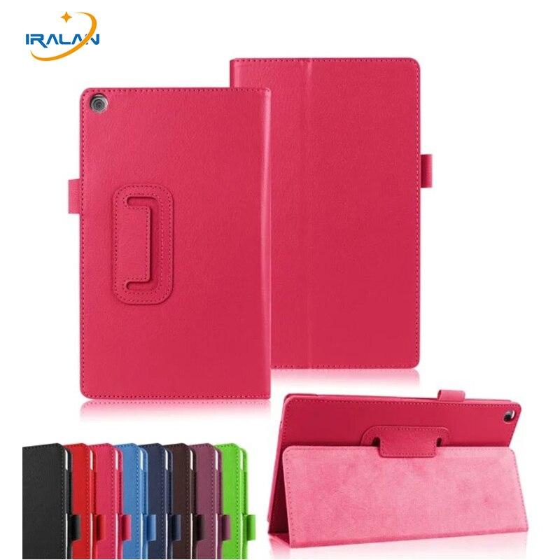 2018 new Super Slim Luxury Lichi Leather Case Cover For ASUS Zenpad 8.0 Z380 Z380KL Z380C Stand 8 inch Tablet gift it baggage чехол для asus zenpad 8 z380 black