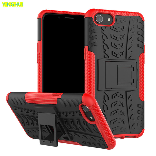 new styles bacd1 e424e US $3.05 14% OFF|For Fundas OPPO A83 Cases Kickstand Armor Duty TPU + PC  Shockproof Case For OPPO A83 Cover For OPPO A 83 Covers Silicone Case-in ...