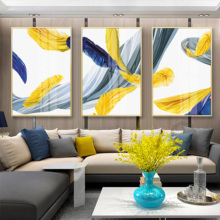Sitting Room Posters And Prints Sofa Setting Wall Draws Canvas Painting Contemporary Contracted Abstract Mural Art