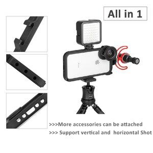 Image 2 - ULANZI Multi functional โทรศัพท์กรงวิดีโอกล้อง Filmmaking RIG สำหรับ iPhone X XS/XS MAX, phonegraphy กรณีวิดีโอขาตั้งกล้อง Mount